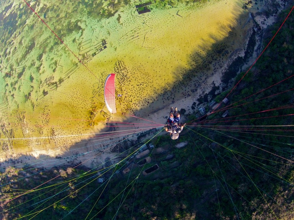 Heads In the Clouds - Paragliding on Bali